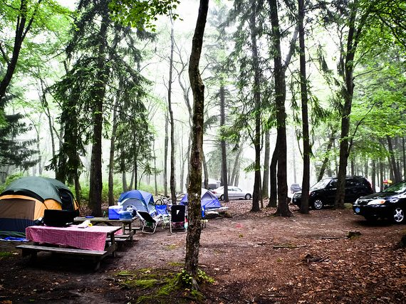 Boston Area Campgrounds: Burlingame State Park