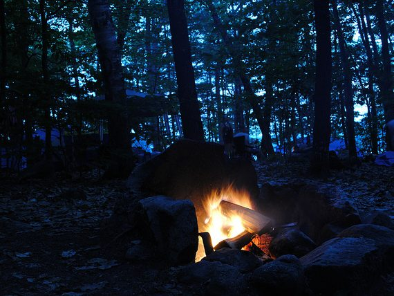Boston Area Campgrounds: Sebago Lake State Park (Maine)